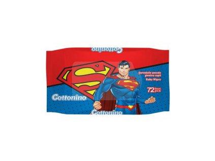 Cottonino Superman Vlhčené Ubrousky 72ks EU