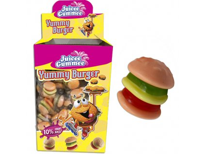 Juicee Gummee Yummy Burger 1ks 10g EU