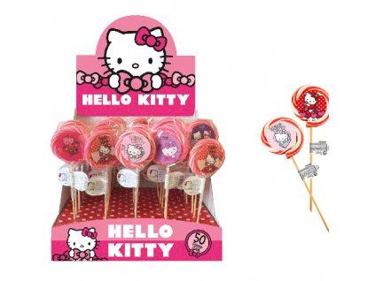 Hello Kitty Lízátko s 3D Samolepkou 30g EU