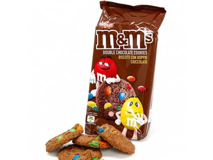 M M s Cookies Double Chocolate 180g UK