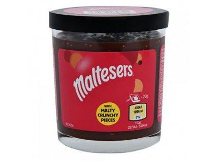 Maltesers Pomazánka s Křupavými Kousky Malty Sušenek 200g UK