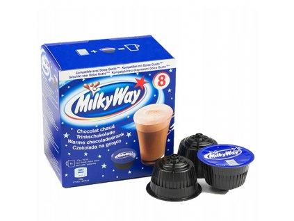 Nescafé Milky Way Horká Čokoláda Balení 136g (8x17g) UK