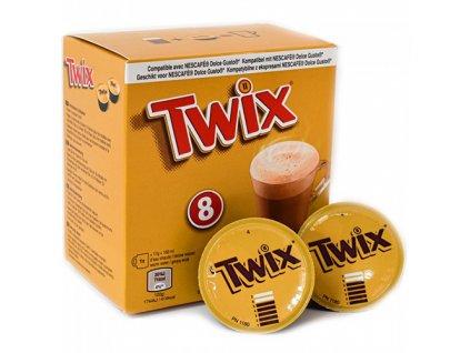Nescafé Twix Horká Čokoláda Balení 136g (8x17g) UK