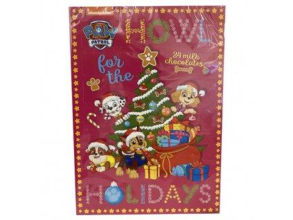 Paw Patrol Howl Holidays Adventní Kalendář 75g EU
