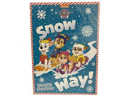Paw Patrol Snow Way Adventní Kalendář 75g EU