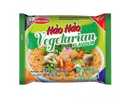 Hao Hao Vegetarianská Instantní Polévka 75g VNM