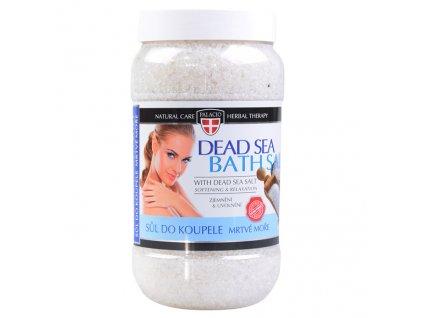 Palacio Herbal Therapy Koupelová Sůl Z Mrtvého Moře 1200g CZE
