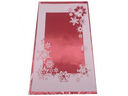 Vánoční Dárkový Sáček Červený 35x20cm 1ks CZE