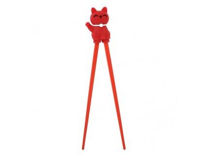 Chopstick Red Cat Helper