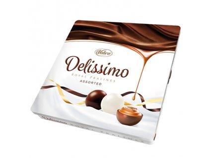 Vobro Delissimo Royal Pralinky z Hořké Čokolády v Plechové Dóze 157g EU
