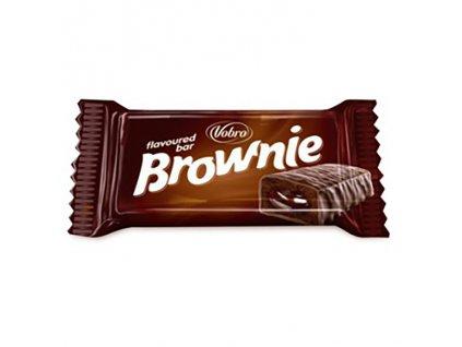 Vobro Brownie Plněná Tyčinka 28g EU