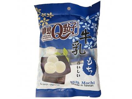 Q Brand Mochi Milk Mléčné Individuálně Balené 120g TWN