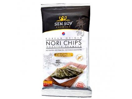 Sen Soy Koresjké Křupavé Řasy Nori Chips Original Malé 2,5g KOR