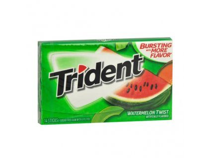 Trident Žvýkačky Vodní Meloun Balení (14ks) USA
