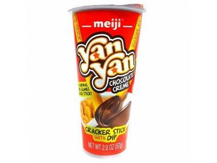 Yan Yan Tyčinky A Krém Čokoláda 57g USA