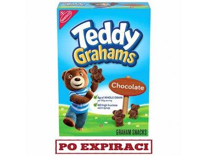 Teddy Grahams Sušenky Čokoláda 283g USA