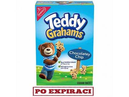Teddy Grahams Sušenky Čokoládové Kousky 283g USA