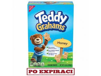 Teddy Grahams Sušenky Med 283g USA