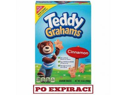 Teddy Grahams Sušenky Skořice 283g USA