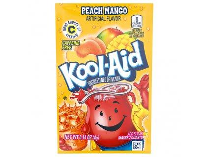Kool Aid Instatní Ovocný Nápoj Broskev A Mango 1ks 4,6g USA