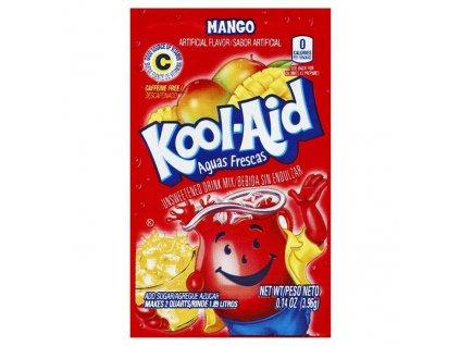 Kool Aid Instatní Ovocný Nápoj Mango 1ks 4,6g USA