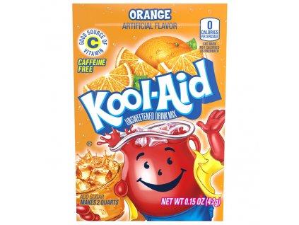 Kool Aid Instatní Ovocný Nápoj Pomeranč 1ks 4,6g USA