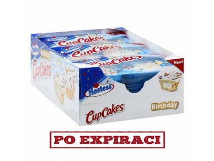 Hostess Birthday CupCakes Balení 556g USA