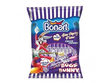 Bonart Finger Chewies Bugs Bunny Třešeň 67g TUR