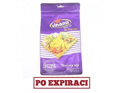 Vinamit ovocný mix chipsy 250g VNM