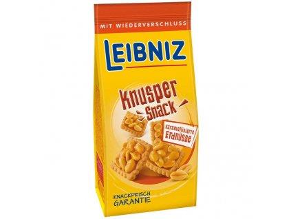 Leibniz Knusper Snack Sušenky Karamel A Arašídy 175g DEU