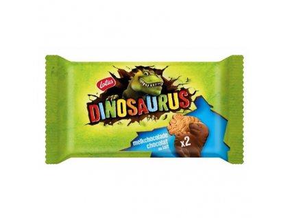 Lotus Dinosaurus Sušenky Milk Chocolate 37,5g BEL