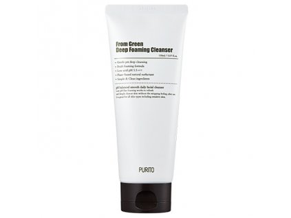 PURITO From Green Deep Foaming Cleanser 150ml KOR
