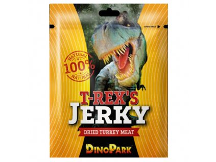 DinoPark T Rex s Jerky Dried Turkey Meat 22g EU
