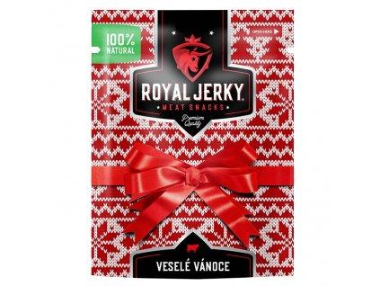 Royal Jerky Hovězí Mix Vánoční Balení 198g EU