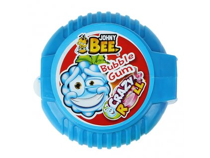 Johny Bee Crazy Roll Bubble Gum Malina 18g CZE