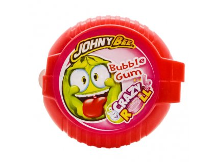 Johny Bee Crazy Roll Bubble Gum Meloun 18g CZE