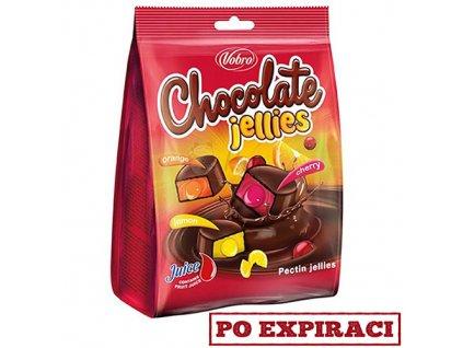 Vobro Chocolate Jellies Chocolate Bonbóny 200g EU