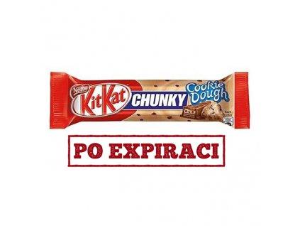 Po Expiraci KitKat Chunky Cookie Dough 42g DEU