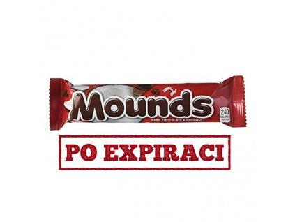 Po Expiraci Hershey's Mounds Kokosová Tyčinka s Tmavou Čokoládou 49g USA