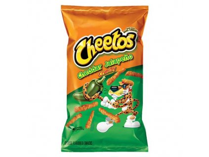 Cheetos Cheddar Chalapeňo Křupky 226,8g USA