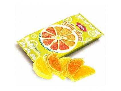 Klim Želé Plátky Pomeranč Citron 240g USA