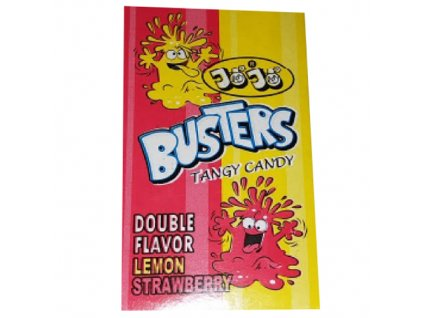 JoJo Busters Tangy Candy Lemon Strawberry 16g PAK
