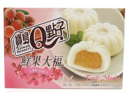 Mochi rýžové koláčky liči - PEPIS.SHOP