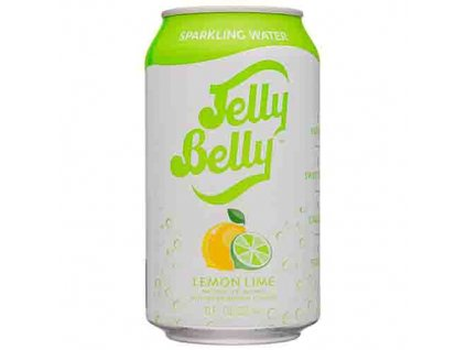 Jelly Belly Sparkling Water Lemon Lime 355ml USA