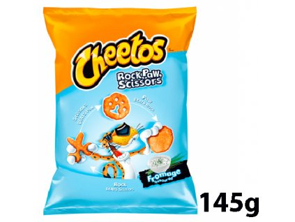 Cheetos Rock Paw Scissors Fromage Flavoured 145g POL