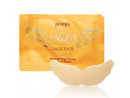 petitfee gold neck pack hydrogel angel wings 1 640x