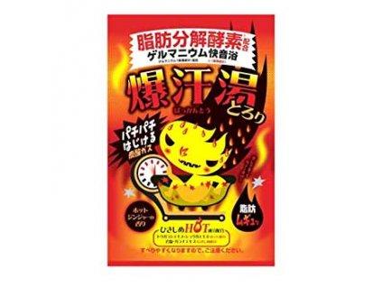 Bison Burning Hot Bath Salt Ginger 60g JAP