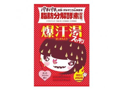 Bison Burning Hot Bath Salt Hot Aroma 60g JAP
