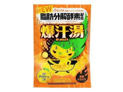Bison Burning Hot Bath Salt Yuzu Ginger 60g JAP