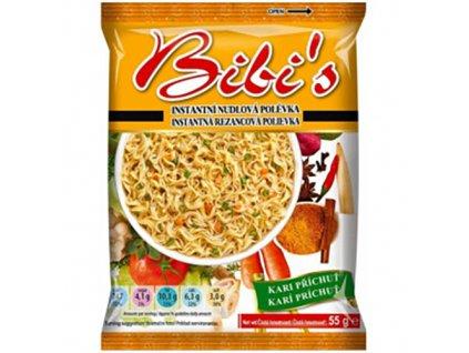 Acecook Bibi s Intantní Nudlová Polévka Kari 55g VNM